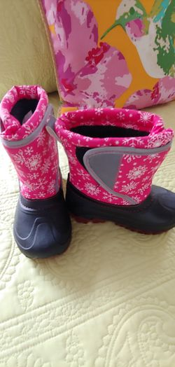 Toddlers Insulated Snow Boots Size 9/10 They Light Up When Walking Brand Members Mark Thumbnail