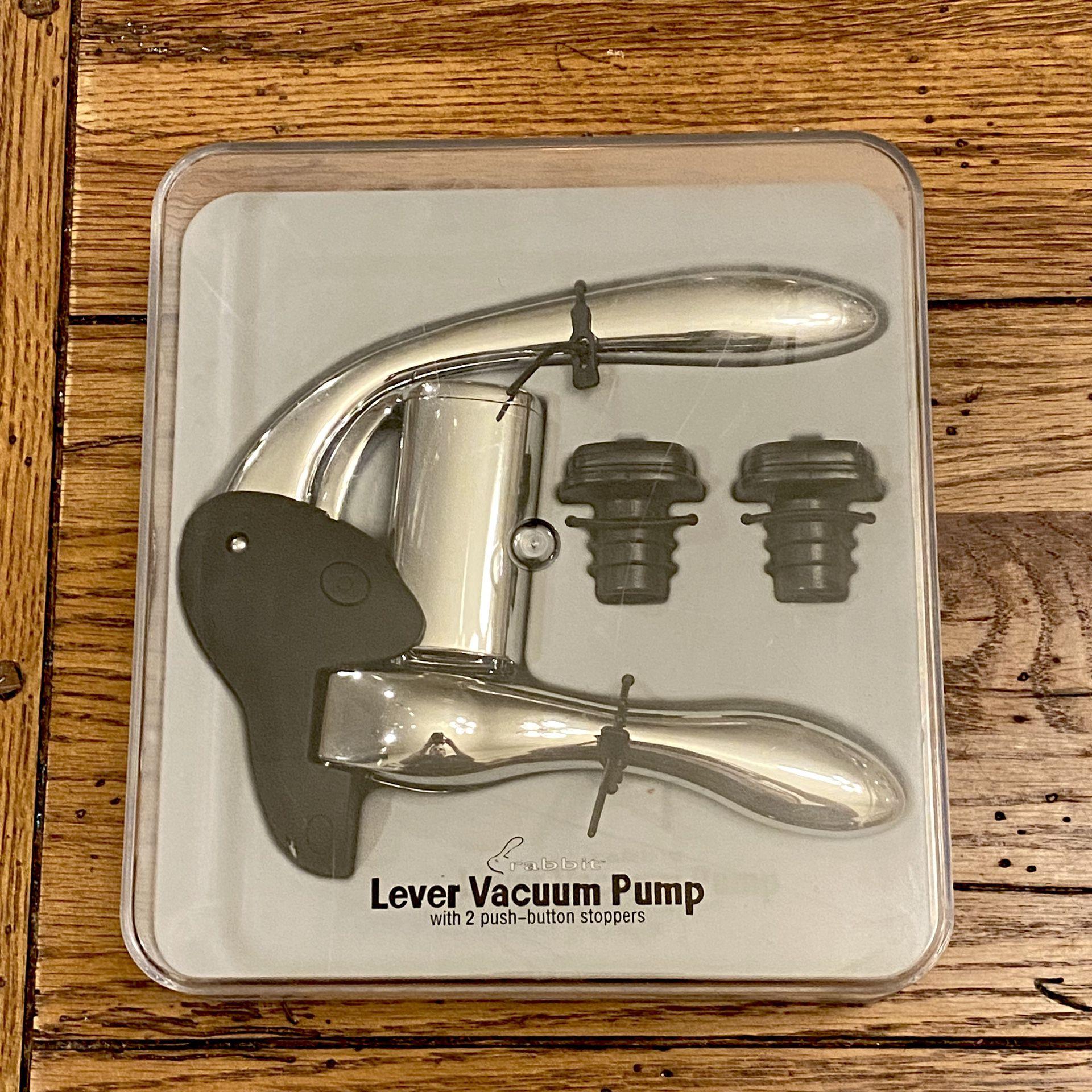 Ultimate Rabbit Lever Vacuum Pump