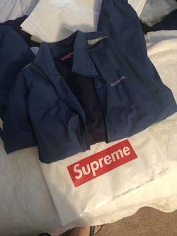Supreme 3m Reflective Stripe Track Jacket Size M, bag included Thumbnail