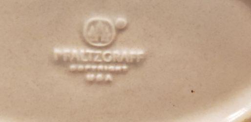 Pfaltzgraff Blue & White Stoneware Weaved Basket Thumbnail