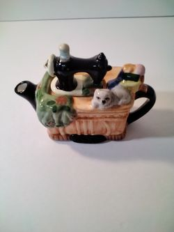 A Very Cute Little Tea Pot . Buy Two For The Same Shipping As One . Thumbnail