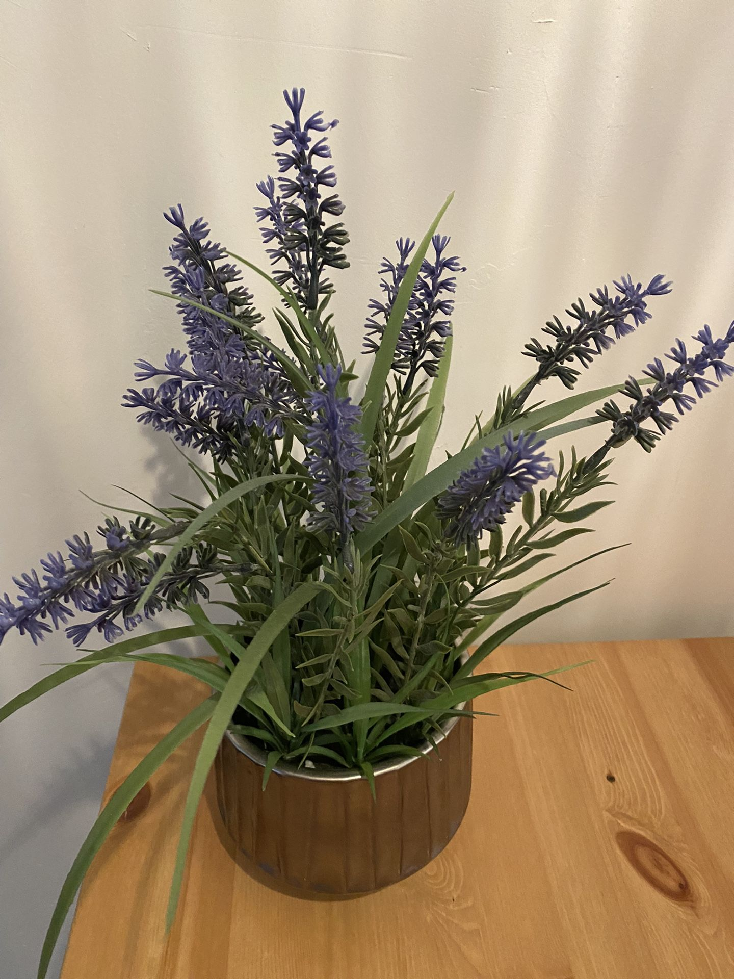 Fake Lavender Plant