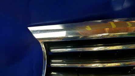 2013 - 2015 INFINITI JX35 QX60 FRONT BUMPER UPPER GRILLE W/O EMBLEM Thumbnail