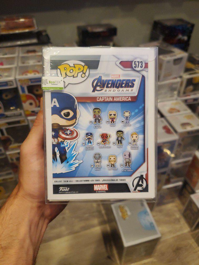Funko Pop! Marvel Avengers Captain America 573