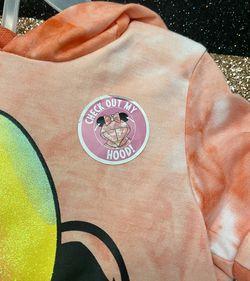 Disney Junior Minnie Mouse Ears Hoodie Set. Color pink size 2T/3T/4T Thumbnail