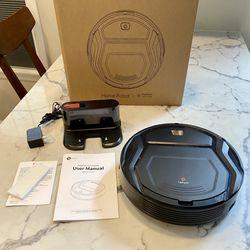 Lefant Robot Vacuum Cleaner, Auto Robotic Vacuums, Upgraded 6D Collision Sensor, 1800pa WiFi/App/Alexa, Self-Charging, Super Quiet Mini Cleaning Robot Thumbnail