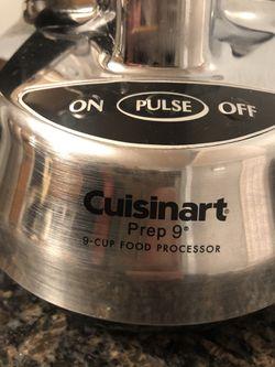 Cuisinart 9 cup food processor Thumbnail