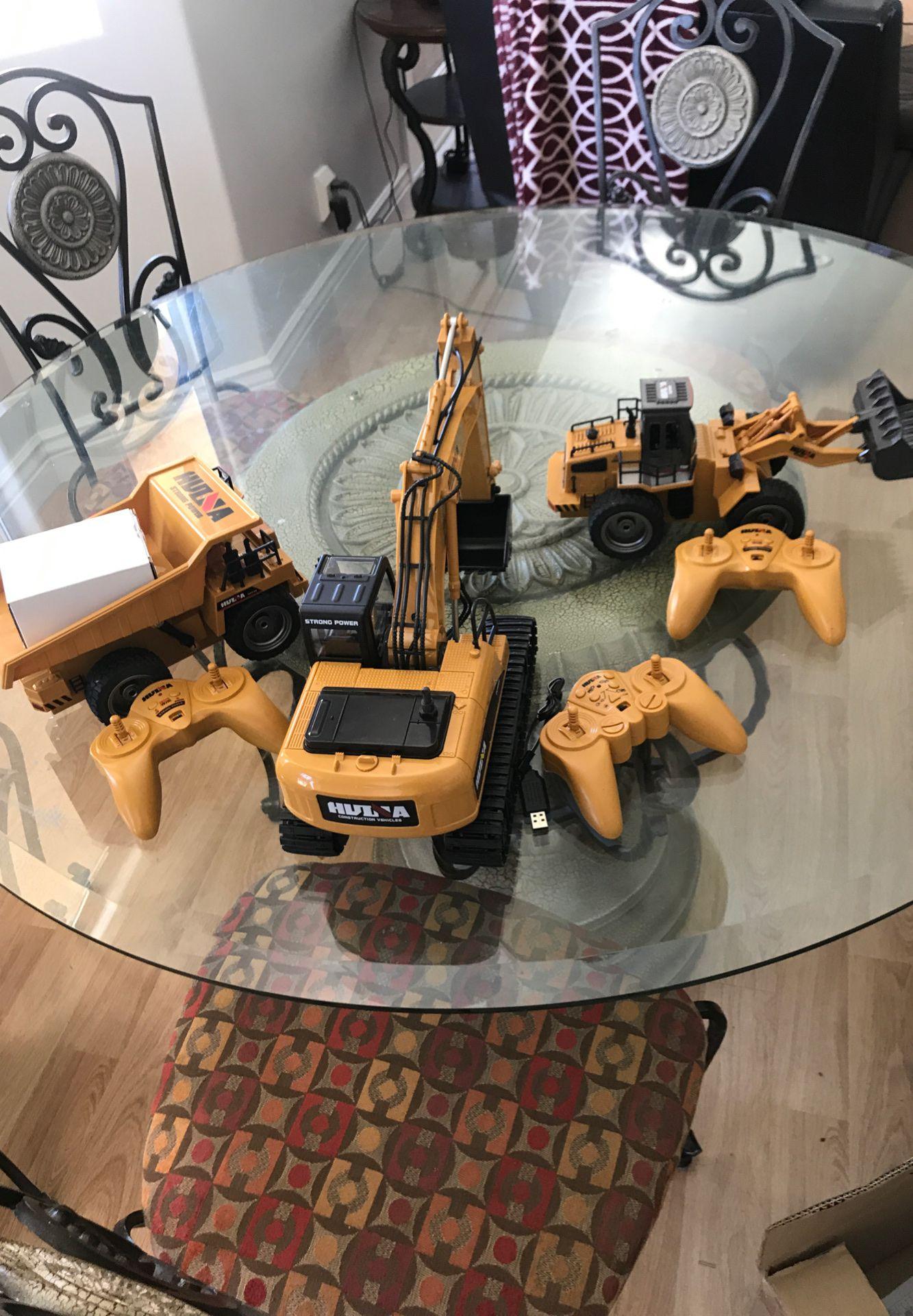 Remote control Hula Construction Cars