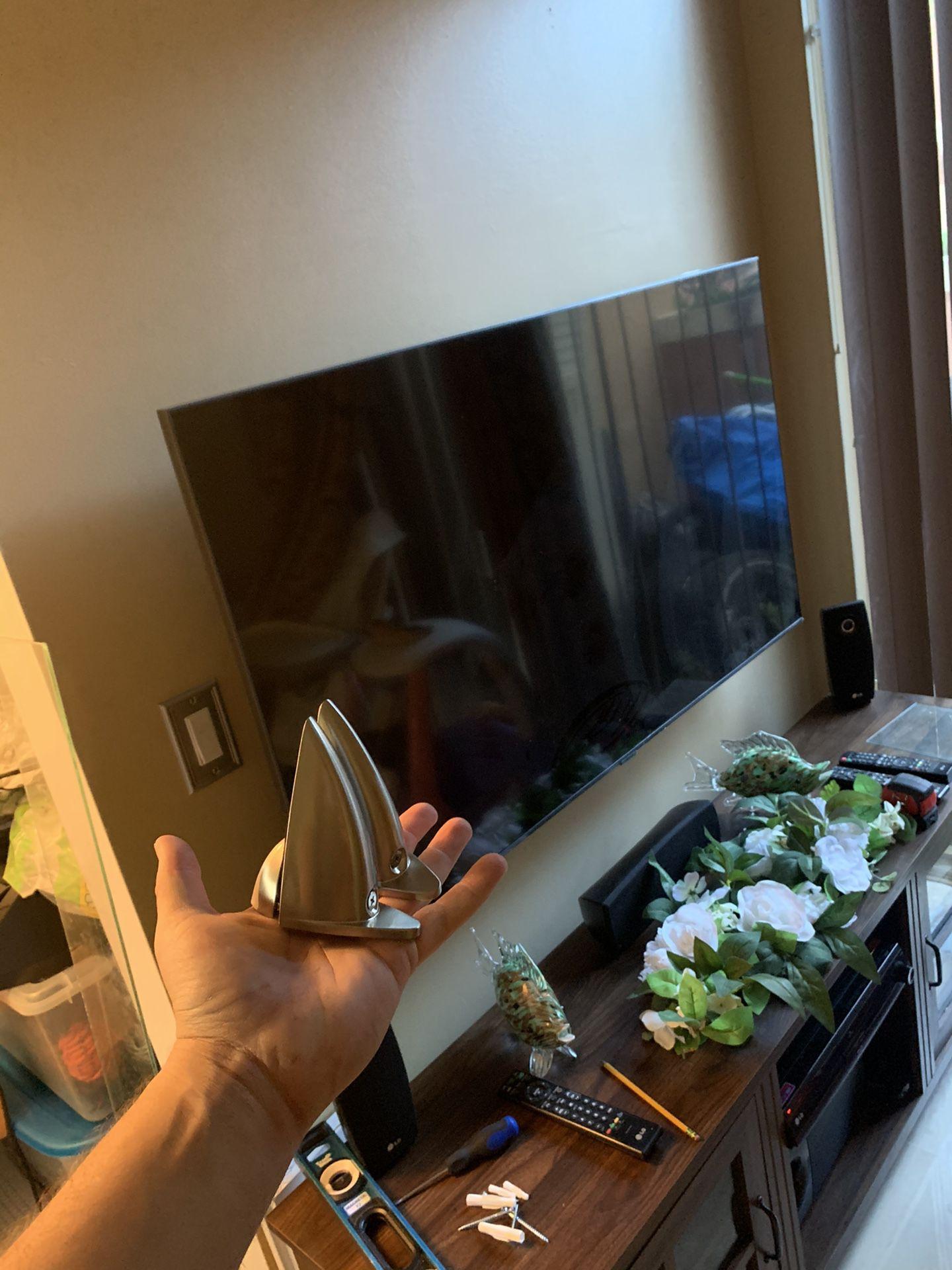 Glass shelves and brackets