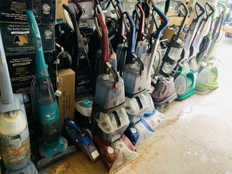 Working carpet shampooers and bare floor steamers Thumbnail