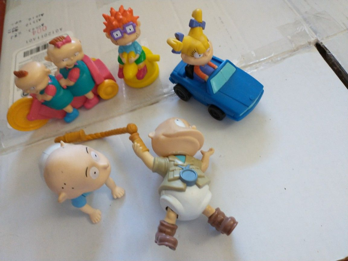 Rugrats Happy Meal And Action Figure Toys