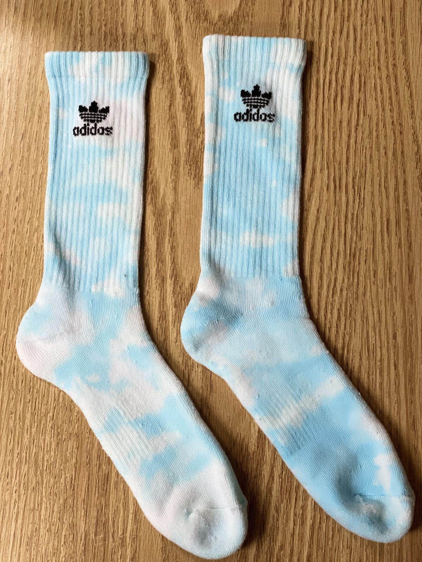 Adidas tie dye socks