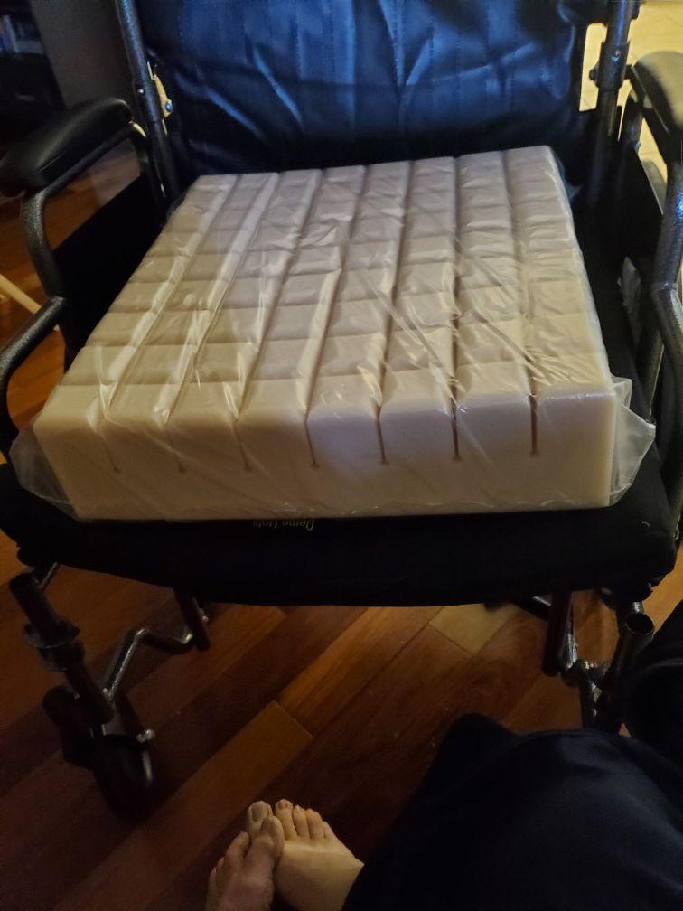 Wheelchair seat cushion brand new