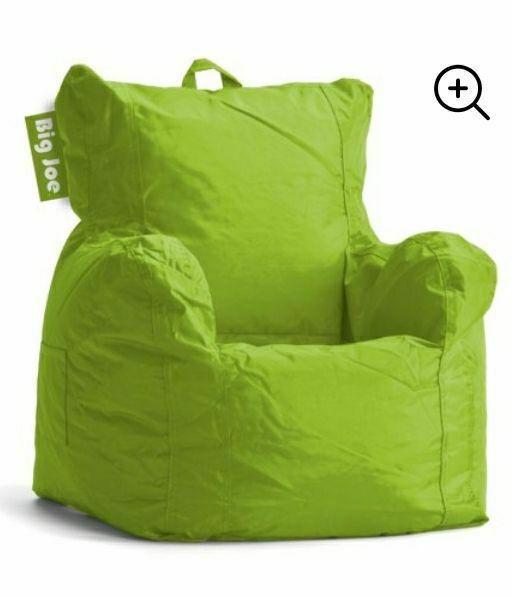 New Lime Big Joe Bean Bag Chair