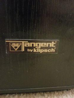 Klipsch Tangent 400 Speakers Vintage Excellent Thumbnail