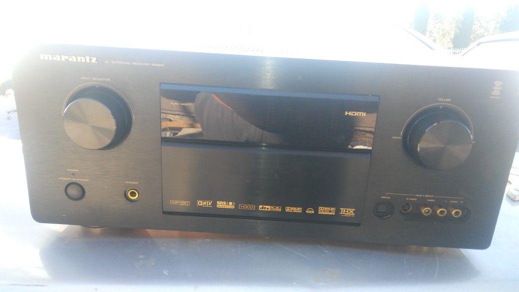 Marantz av surround receiver sr8001