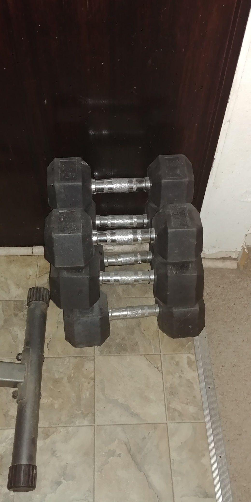 Weight equipment