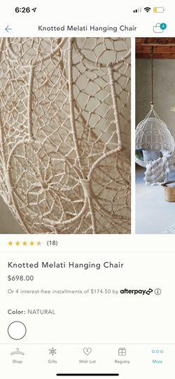 Hanging Chair Thumbnail