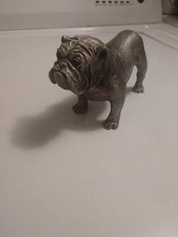 Hudson pewter Phillip kraczolaski bulldog 1970 Thumbnail