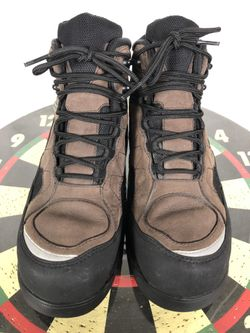 Nike ACG Air Hiking Brown Boots Men 9.5 US Leather Vintage 303830 Camping 2002 Thumbnail