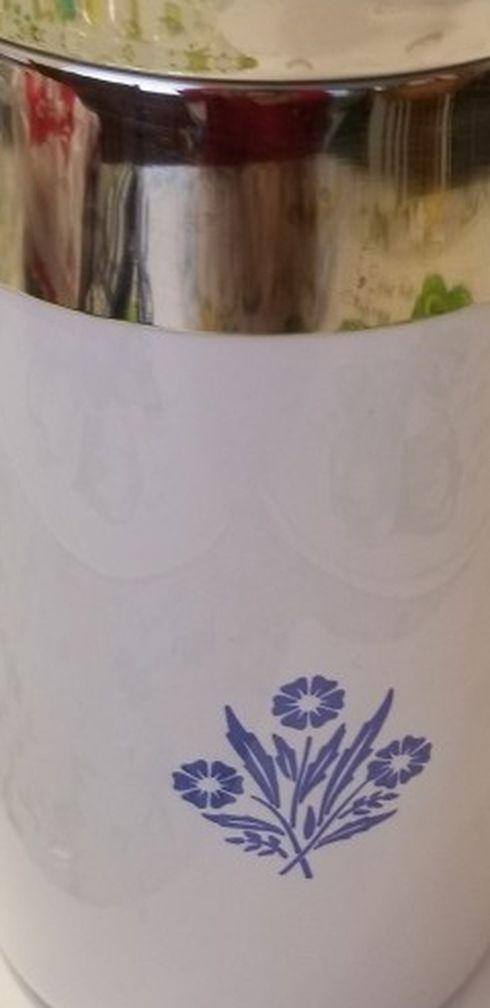 Corningware Coffer Pot 9cup Vintage