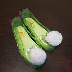 Tinkerbell Shoes Toddler Girls Size 11 12 Disney Thumbnail