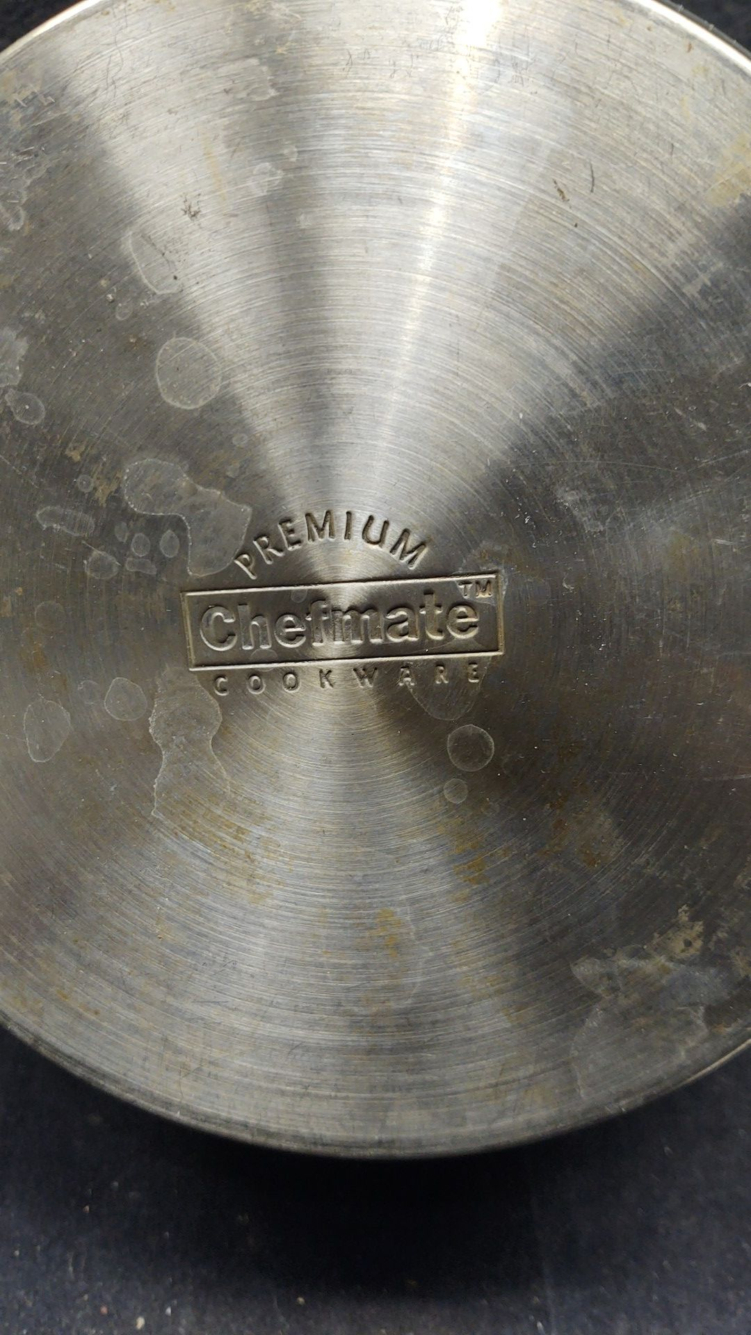 """Checkmate Premium Cookware 8"""" Stainless Steel Sauce Pot"""