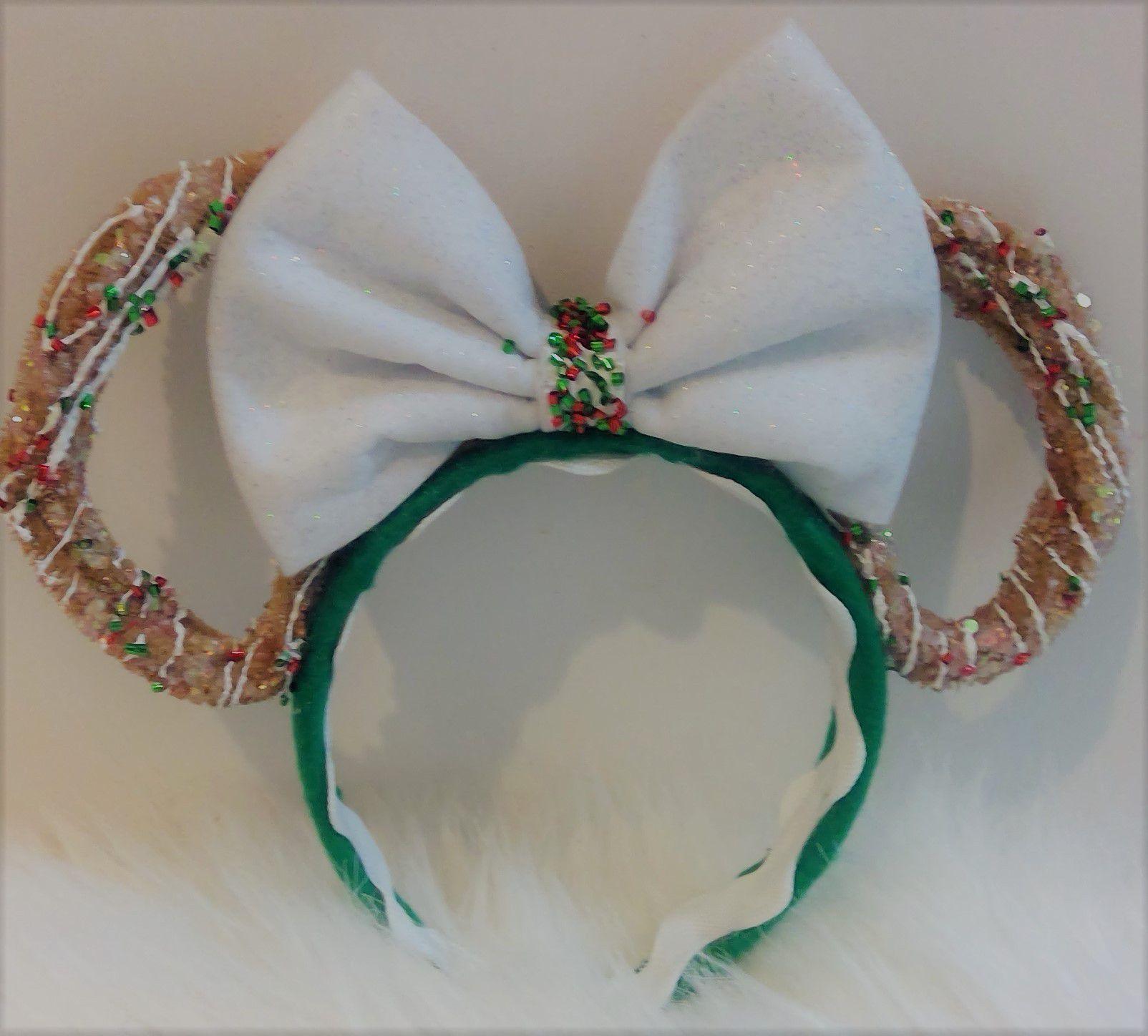 Christmas Minnie Mouse Churros Scented Headband ears