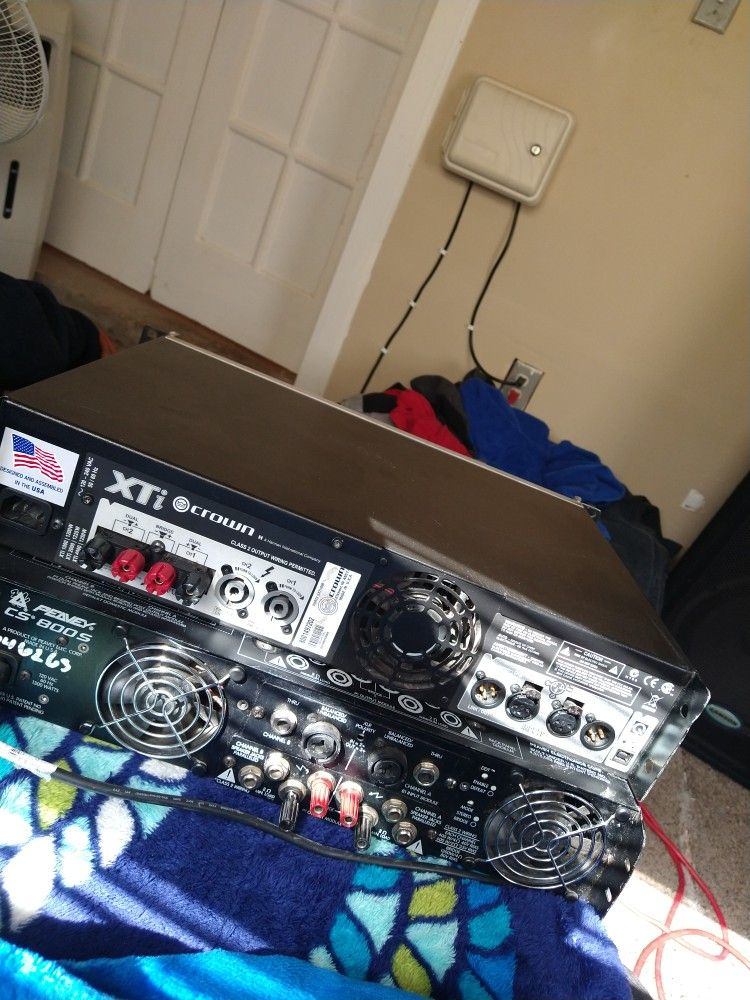 Two Amplifers