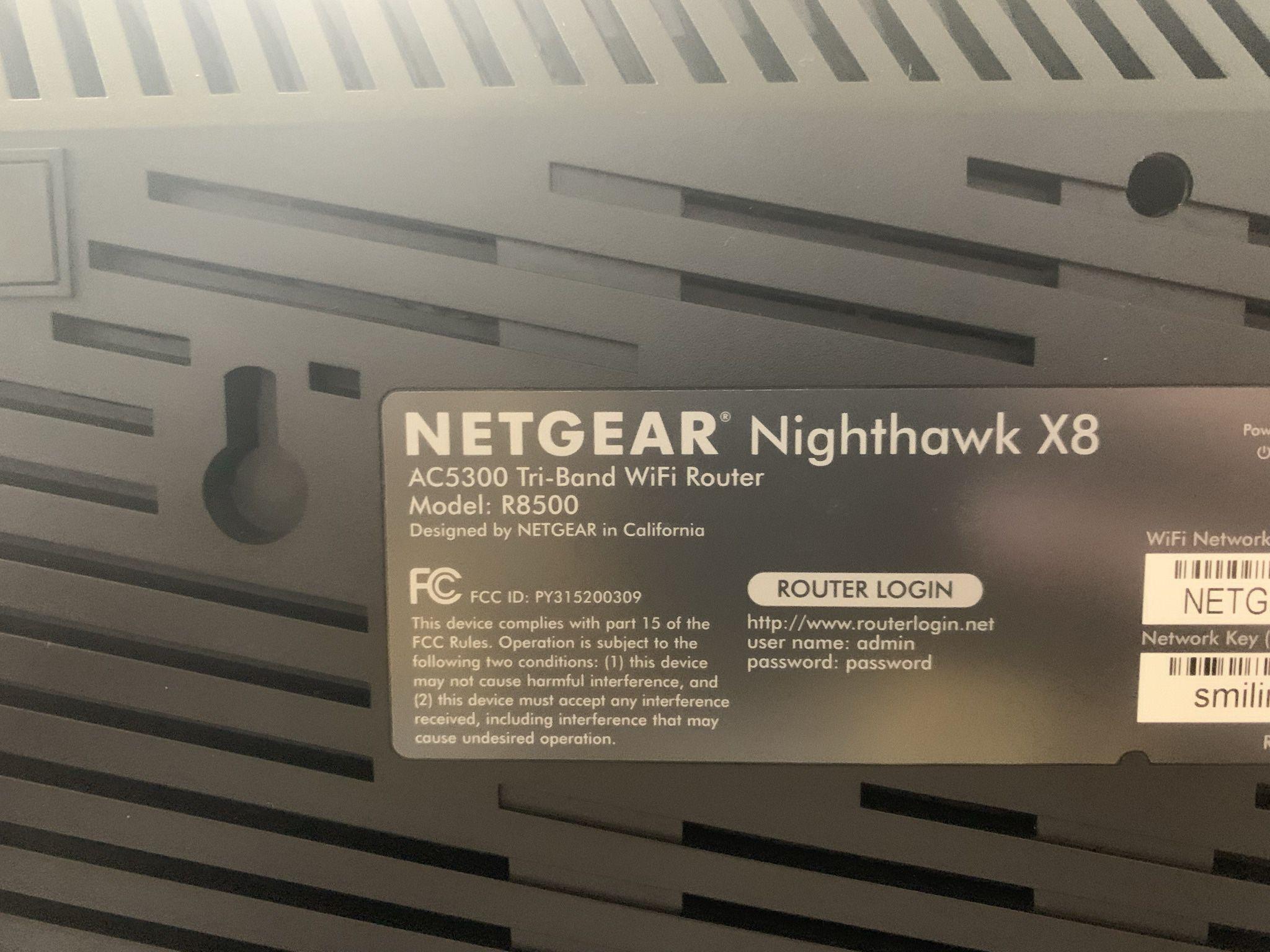 Netgear Nighthawk X8