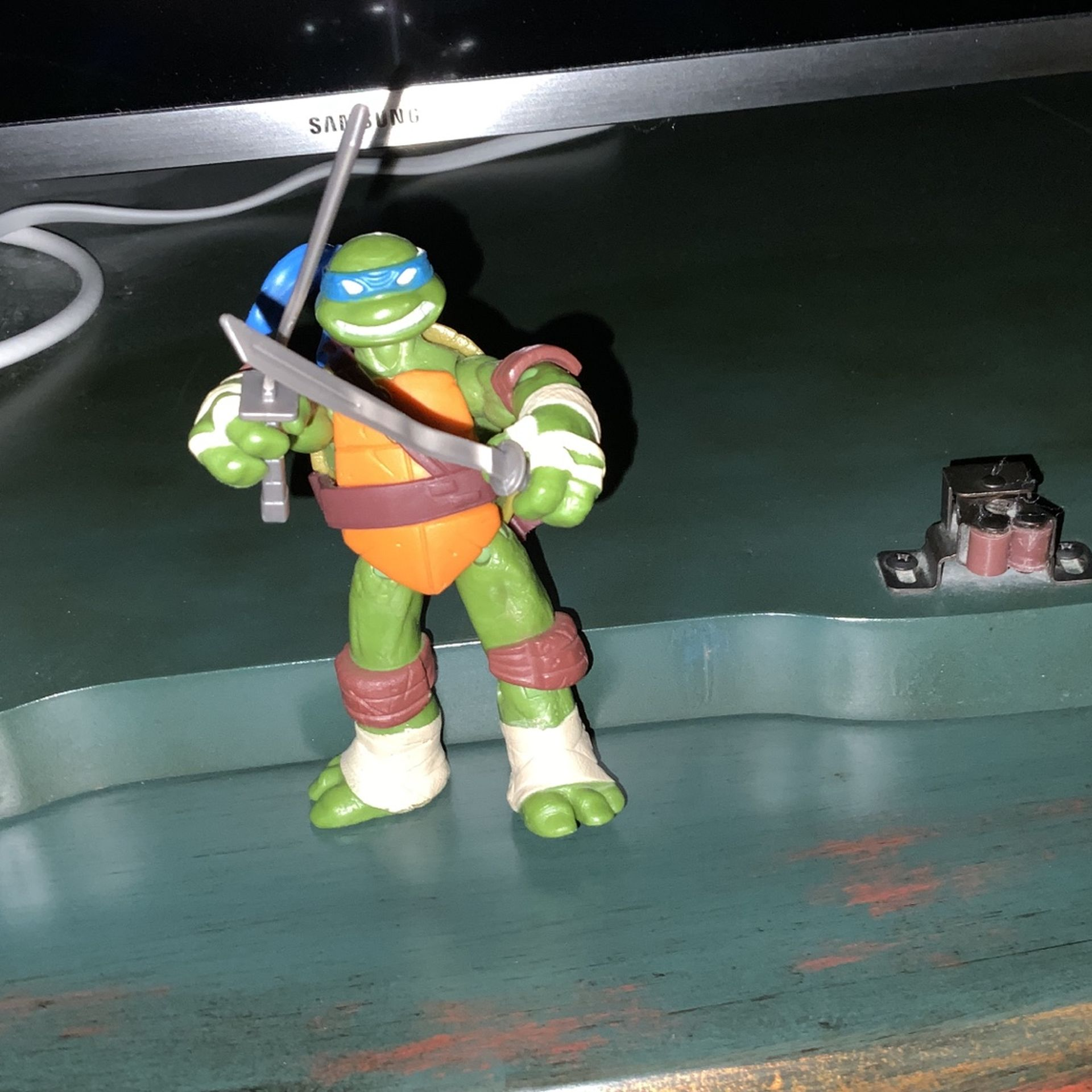 Rare Leanordo TMNT action figure collector.