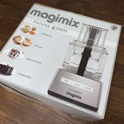 New Magimix French Food Processor Chrome CS4200XL 950 Watt Recipe Book - FIRM PRICE Thumbnail