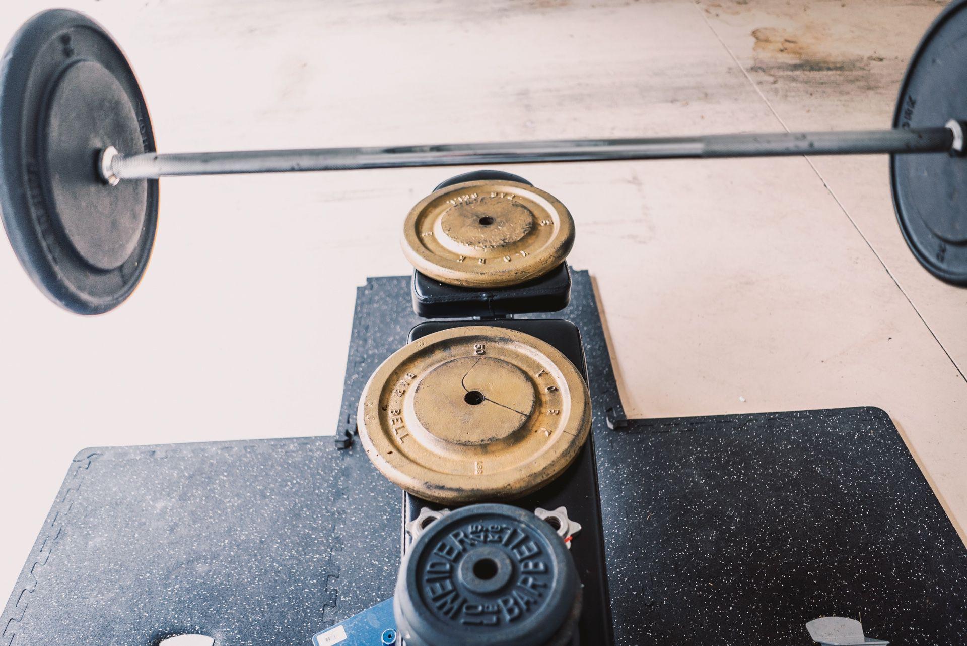 Bench Press Set & Weights