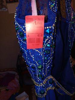 Blue Prom Dress Thumbnail
