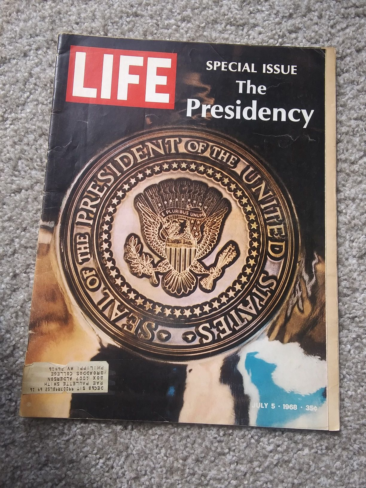 RARE 1968 LIFE Mag SPECIAL ISSUE : The Presidency