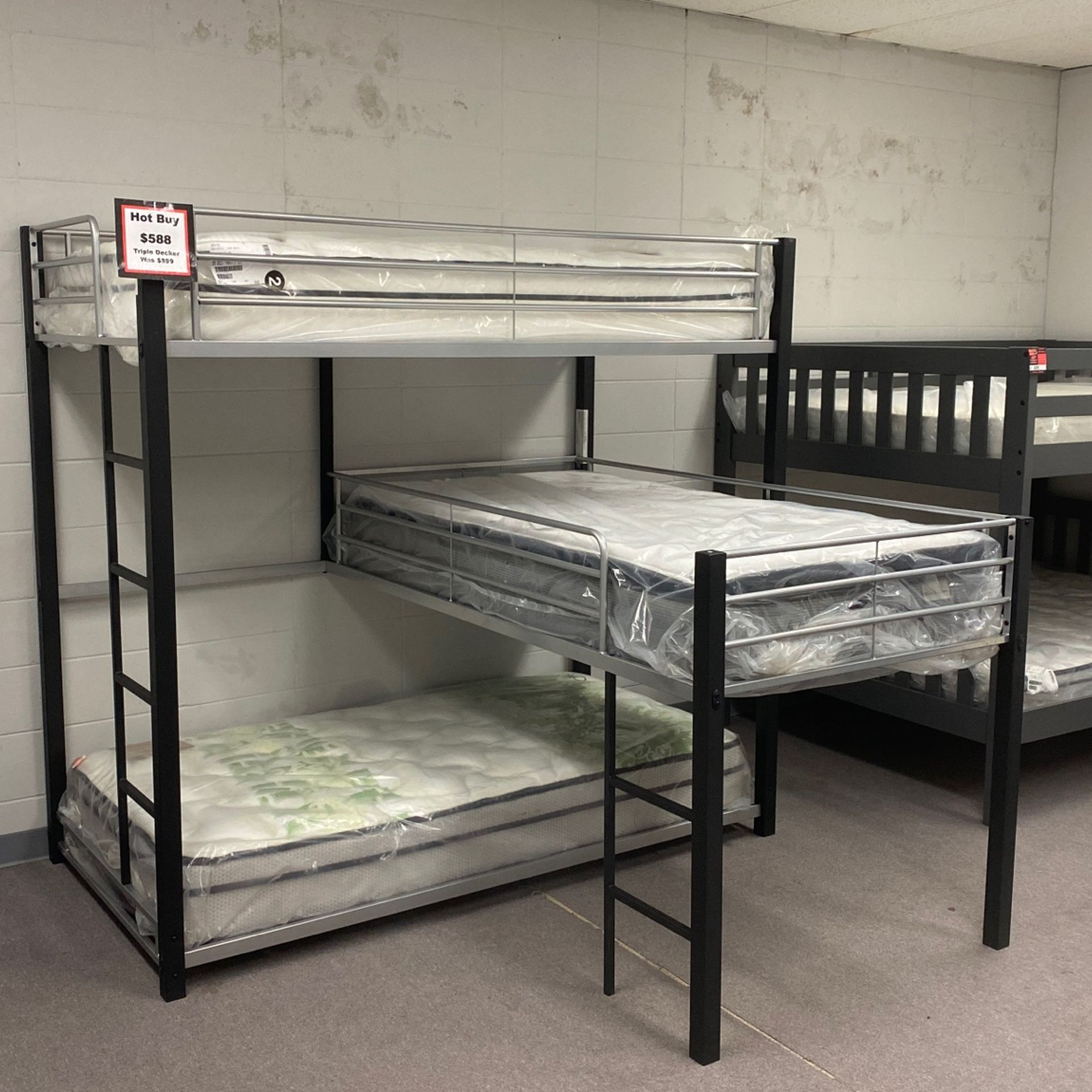 Bunk Bed Triple Stack
