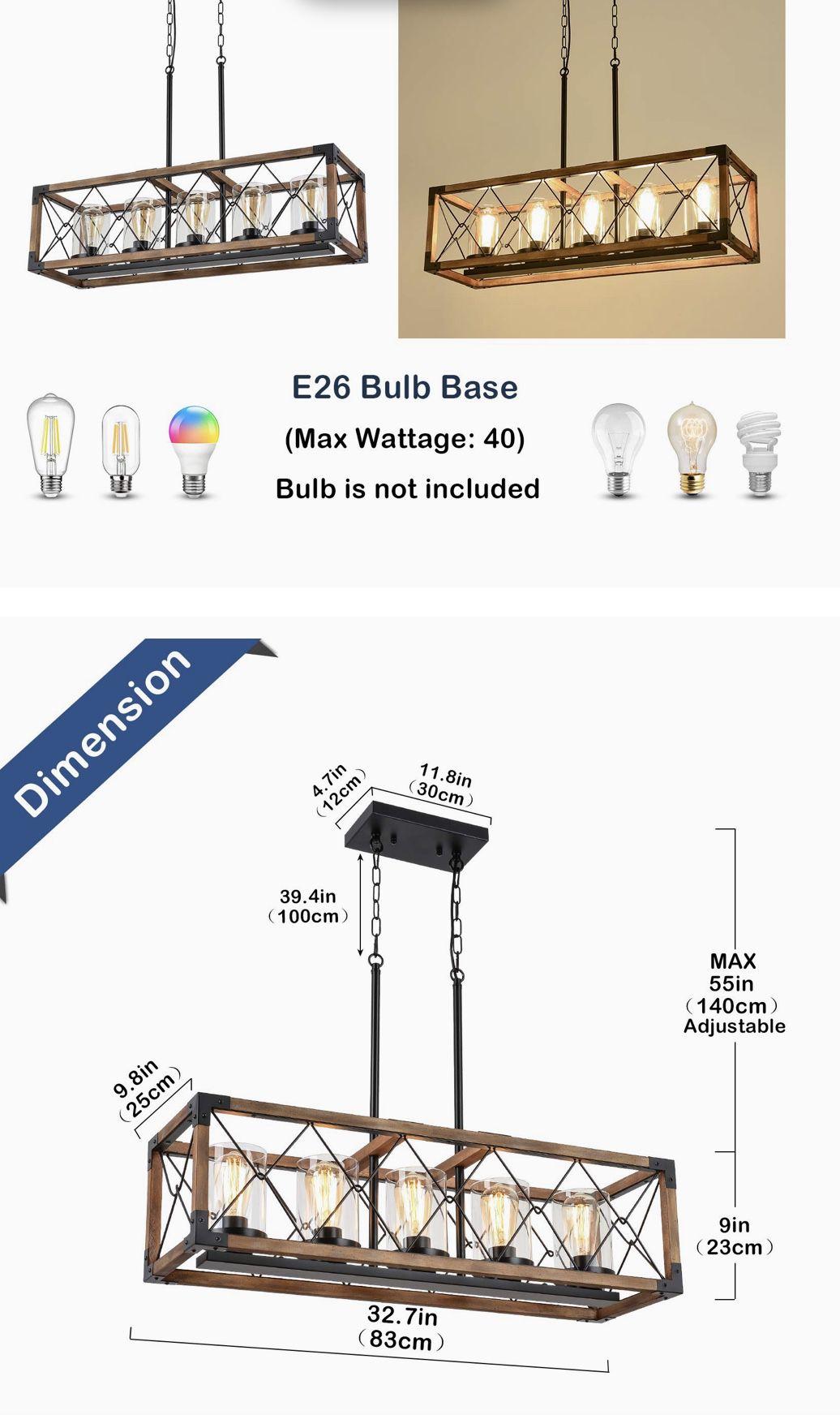 Farm House Light Fixture