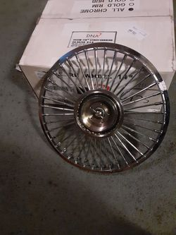 "Luxor 14"" wire wheel adapter.50 spokes Thumbnail"