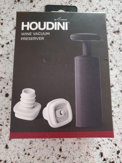 Houdini wine Vacuum Preserver Thumbnail