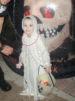 Kids Ghost Halloween Costume  Thumbnail