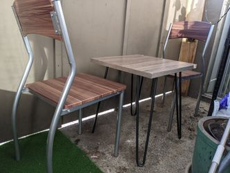 Patio furniture bistro table chairs Thumbnail
