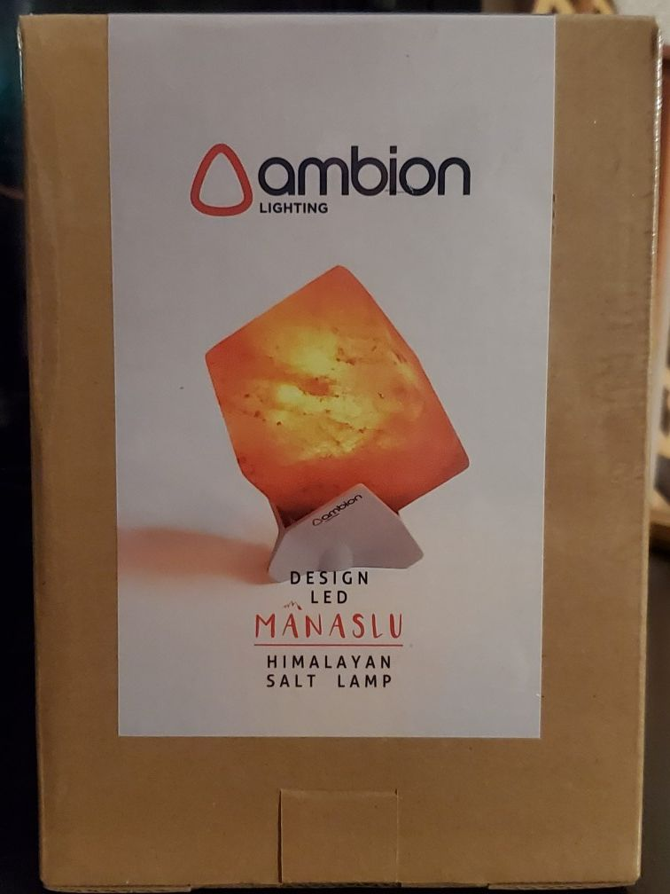 Ambion LED Salt Lamp