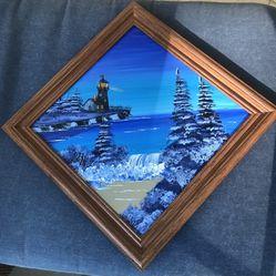 Painted Mirror Thumbnail