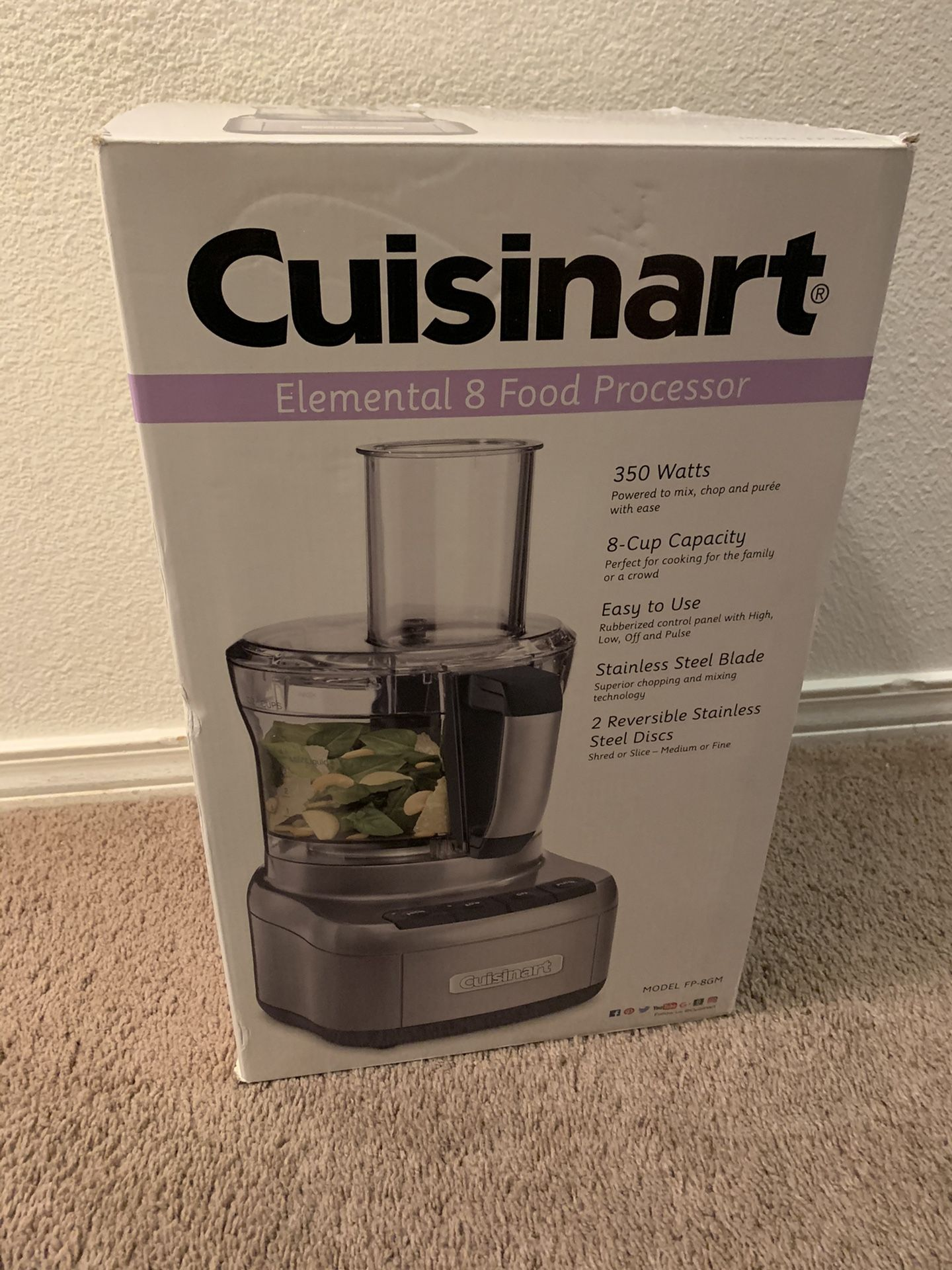Cuisinart, Elemental 8 food processor