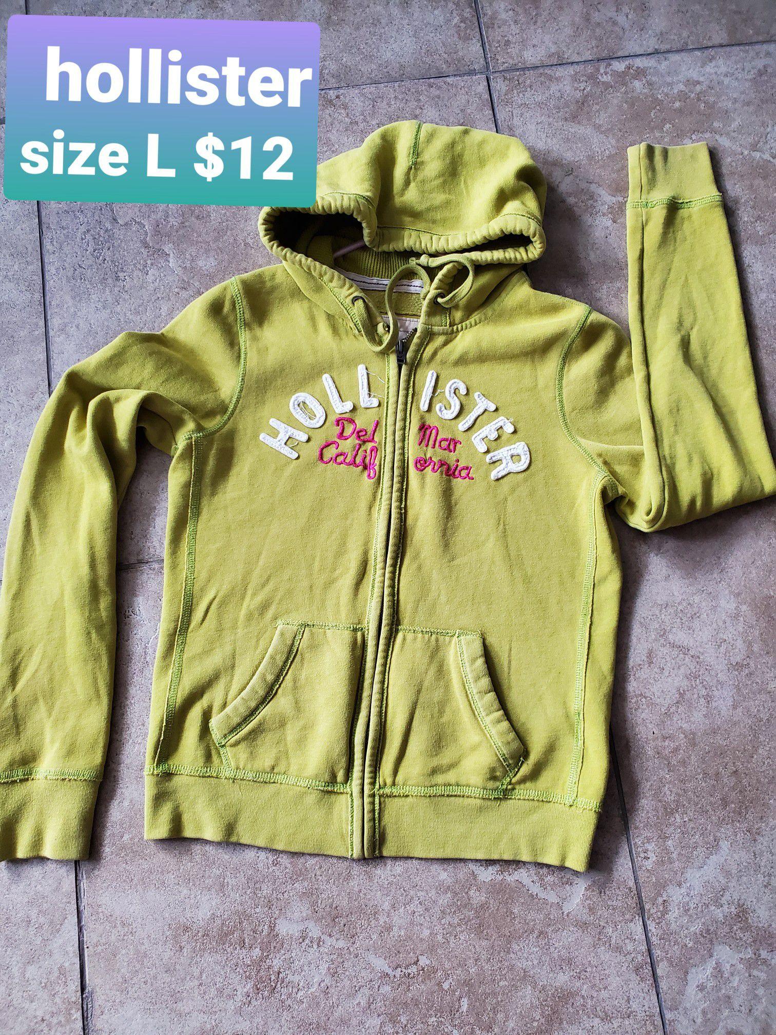 jacket hoodies sweatshirt Hollister/ Victoria's secret large