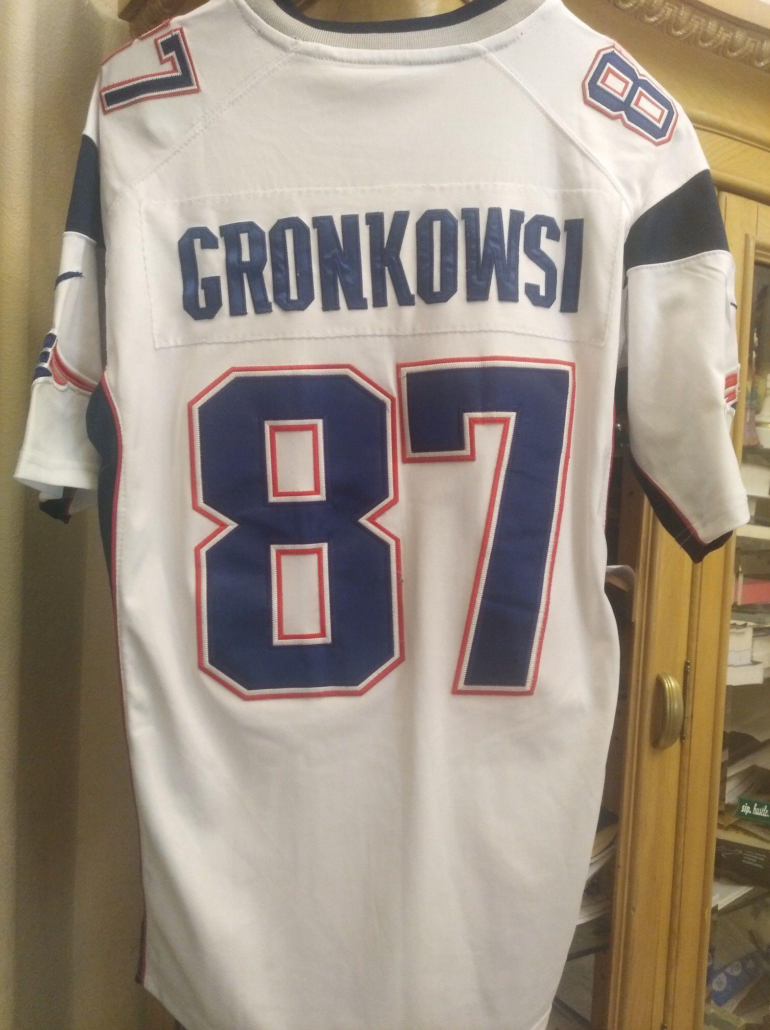 Patriots Jersey Gronkowsi