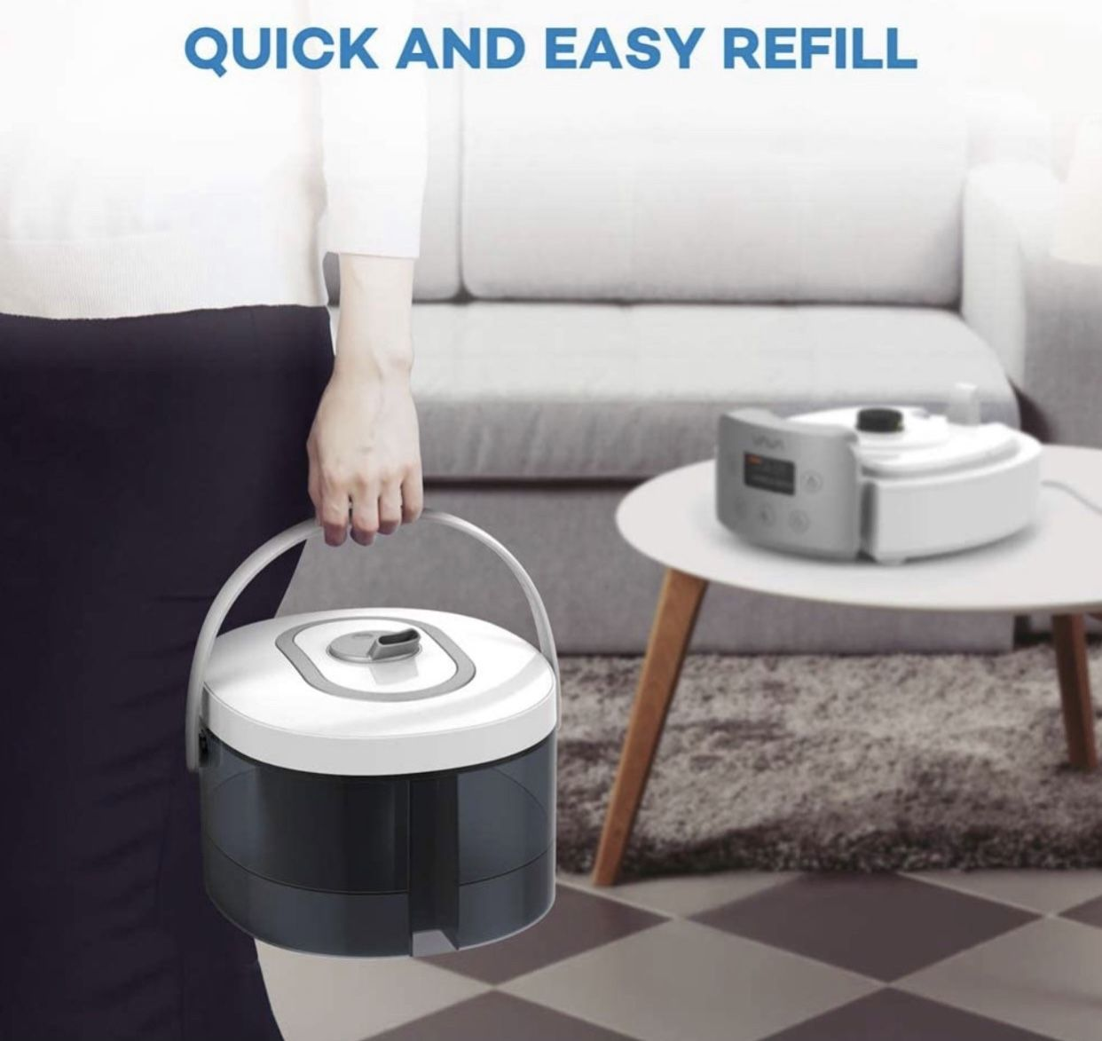 top fill large humidifier for large rooms