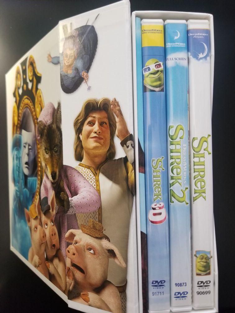 Shrek DVD Collection