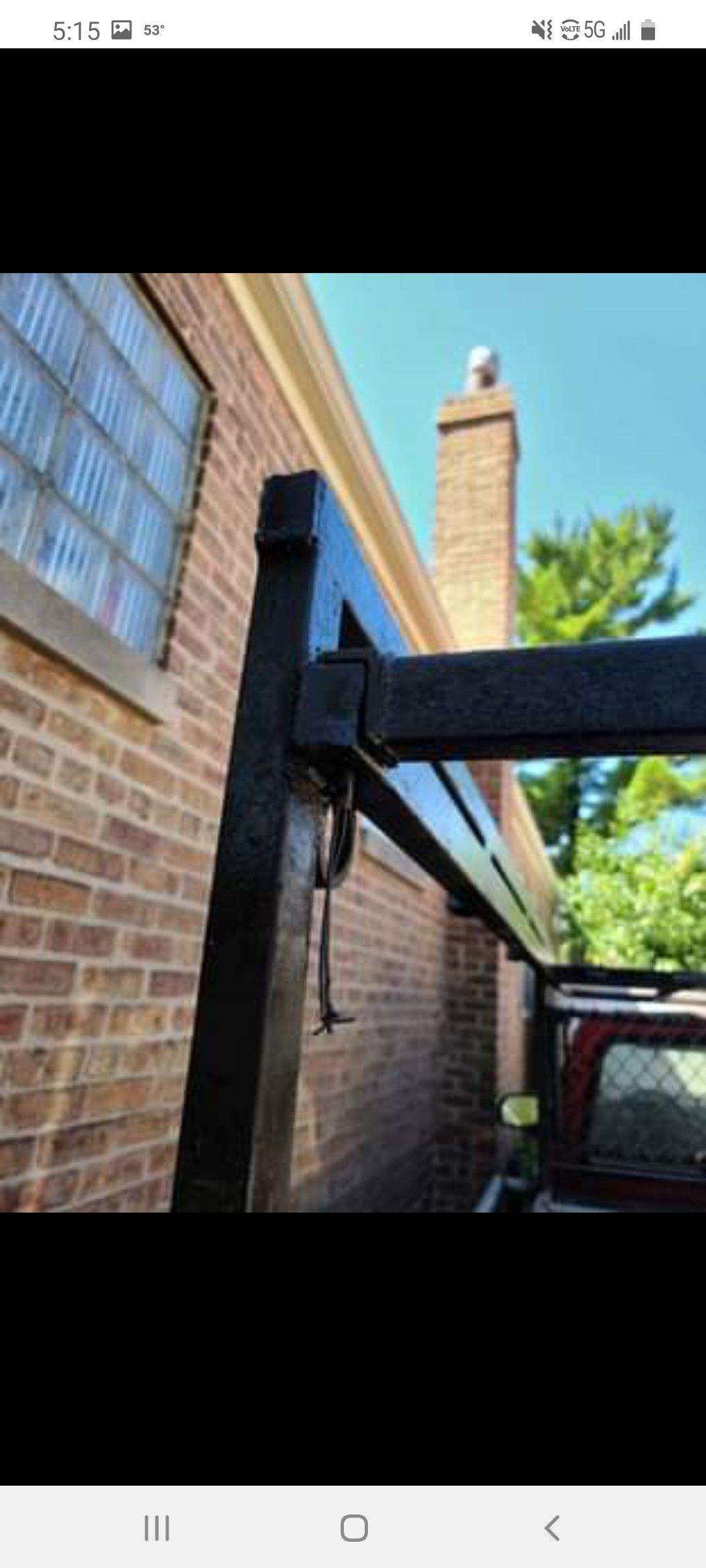 Ladder rack only