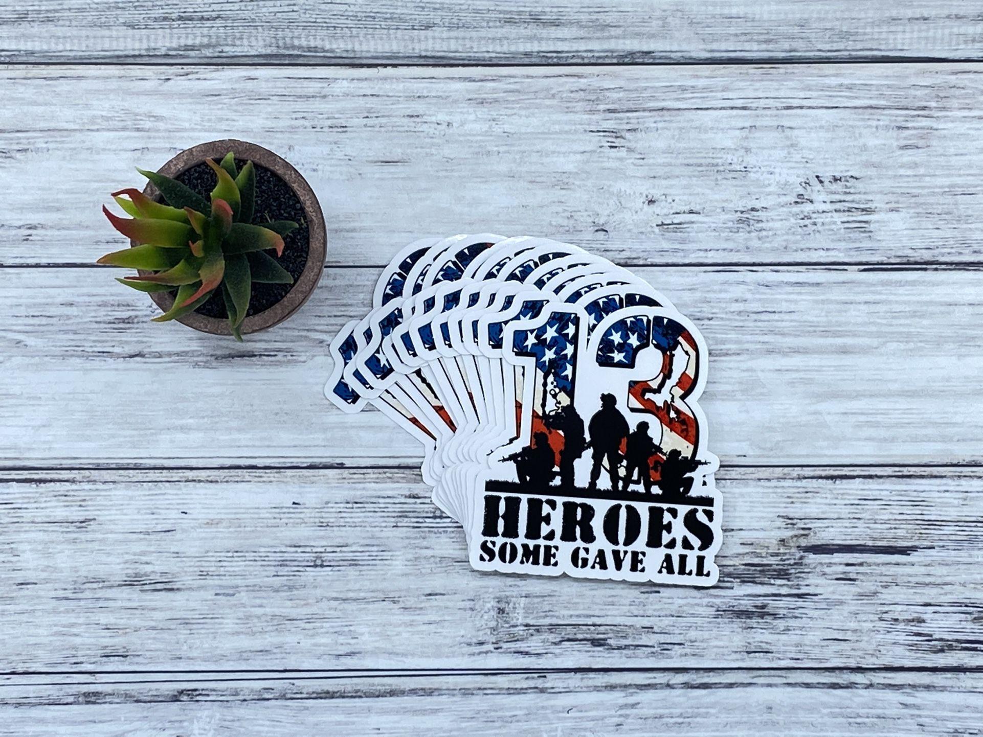 13 Heroes Stickers